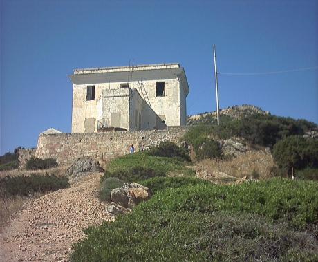 Ex Faro Di Capo D'Orso | foto RAS