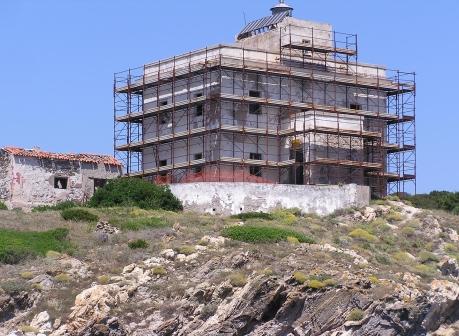Faro di Punta Filetto | foto RAS